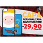 Capa Celular Adventure Time Galaxy S3 S4 S5 S6 S7 Mini