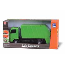Caminhão De Lixo Verde - Roma Brinquedos - Urban Coletor