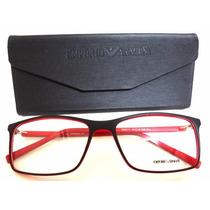Ea6171 Unissex Armação Óculos De Grau Varias Cores + Case