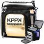 Bolsa Termica C/ Compartimentos Keeppack Mid - Golden