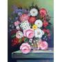 Quadro Flores Óleo Sobre Tela