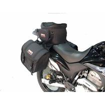 Kit Xre300 Alforge + Afastador (suporte) + Mala Banco Gripho