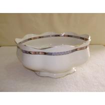 Saladeira De Porcelana Inglesa - Wood & Sons - Belissima Peç