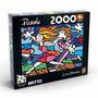 Quebra Cabeça Puzzle 2000 Peças Romero Britto - Love Blosson