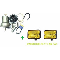 Kit Alternador Fusca Kombi Brasilia 55 Amp + Milha =serra Am