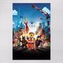 Poster 60x90cm Filmes Infantis Animacao Lego Movie