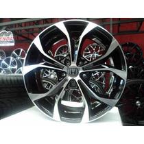 Roda Civic Exr 2016 Aro 18 - 4/5 Furos Fit City I30