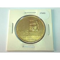 Moeda Uruguai 5 Pesos 1975 Sesquicentenário Grande - Lt1422