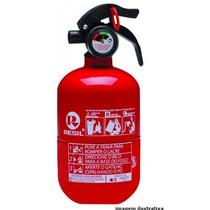 Extintor Incendio Automotivo Resil Abc R989 Gordinho 5anos