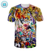 Camisa Cavaleiros Do Zodíaco Camiseta Anime Saint Seiya Cdz