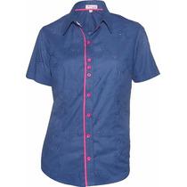 Camisa Feminina Amanda Em Lese - Pimenta Rosada