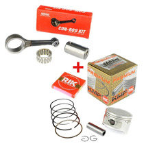 Kit Aumento Cilindrada Pistão 1,00 Mm + Biela Titan Bros 150