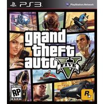 Gta 5 V Grand Theft Auto 5 V Ps3 Português Lacrado