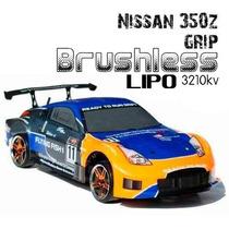 Carro Himoto Nissan 350z Brushless 2.4ghz Lipo + Carregador