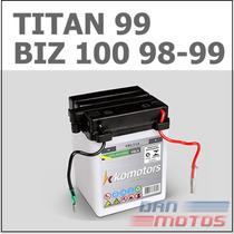 Bateria De Moto Cg 125 Titan 99 Bolinha Biz 98/99