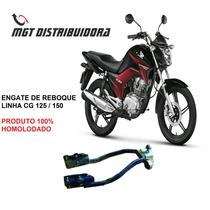 Engate De Reboque Cg 125 Linha Honda