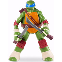 Boneco Leonardo 50cm Tartaruga Ninja Teenage Mutant Turtles