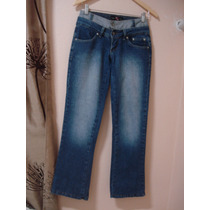 Calça Jeans 36 Reverso Fashion Cós Duplo Taxas P Patch