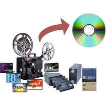 Conversão De Vhs/ Fitas Pequenas Jvc E 8mm Para Dvd Ou Hd