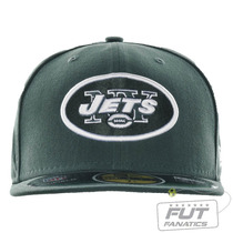 Boné New Era Nfl New York Jets 5950 Evergreen Tamanho 7 1/4
