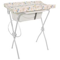 Banheira Com Trocador Floripa Branca - Tutti Baby