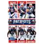 Poster England Patriots Equipa 15 Rp14160