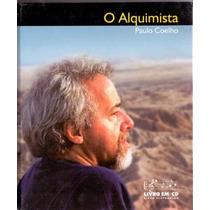 Livro Em Cd O Alquimista Paulo Coelho Novo Lacrado. 5 Cds +1