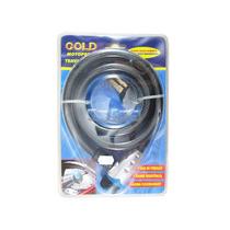 Cadeado Articulado Trava Moto Gold Preto 1,5 M Corrente