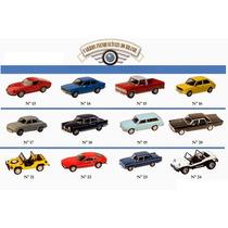 Miniatura Carros Inesquecíveis Do Brasil Vários Modelos 1:43