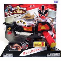 Bullzooka Power Rangers Super Samurai Original Bandai #31604