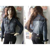 Jaquetinha Jeans Feminina (jaqueta) By Unna