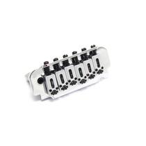 Ponte Para Guitarra | 2 Pivôs | Roller | Strato | Cromada
