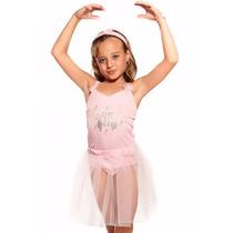 Fantasia Infantil Menina Bailarina Tamanho 2