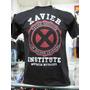 Camiseta Xmen Xavier Super Heroi Geek Nerd Cinema Tv Hq