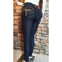 Calça Jeans Estilo Pit Bull C/bojo Levanta E Modela Bumbum.