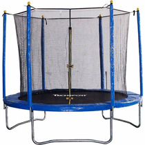 Trampolim Pula Pula Infantil 2,43m Techsports - Suporta 80kg