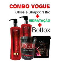 Vogue Definitiv Gloss Hid. Banho Verniz Platica Fios Vogotox