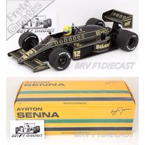 1/18 Minichamps Lotus 98t Renault Turbo Ayrton Senna F1 1986