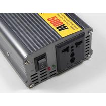 Inversor Transformador Conversor Veicular 500w 12v 110v