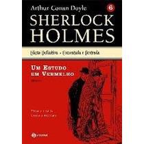 Livro Sherlock Holmes Edição Definitiva - Vol.6: Um Estudo