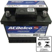 Bateria Ac Delco 48ah 12v Fiorino Prisma Courier Agile Corsa