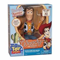 Toy Story Réplica Boneco Xerife Woody Roundup Com Fala 40 Cm