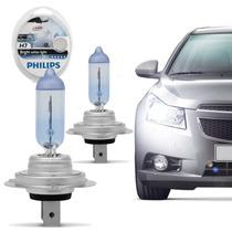 Lampada H7 Philips 4300k Crystal Vision Super Branca Cristal