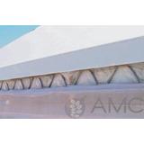 Perfil Aluminio + Mola   Para Fixação Em Estufa Agricola