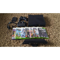 Xbox 360+kinect+7 Jogos Original+2 Controles+hd320gb+headset