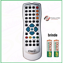 Controle Remoto Claro Tv Original + Pilha Recarregavel Brind
