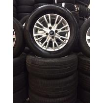 Jogo De Rodas Eco Sport Aro 15 Com Pneus 205/65 R15 Pirelli