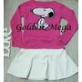 Blusa Tricot Snoopy Feminino Pronta Entrega