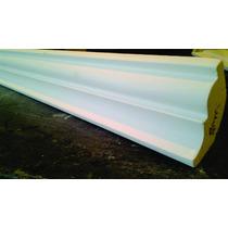 Moldura De Isopor 8cm 3,75 Metro Linear - Substitui O Gesso