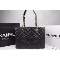Bolsa Chanel Shopper Gst Couro Caviar Ou Lambskin Na Caixa